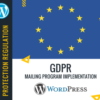 All about GDPR
