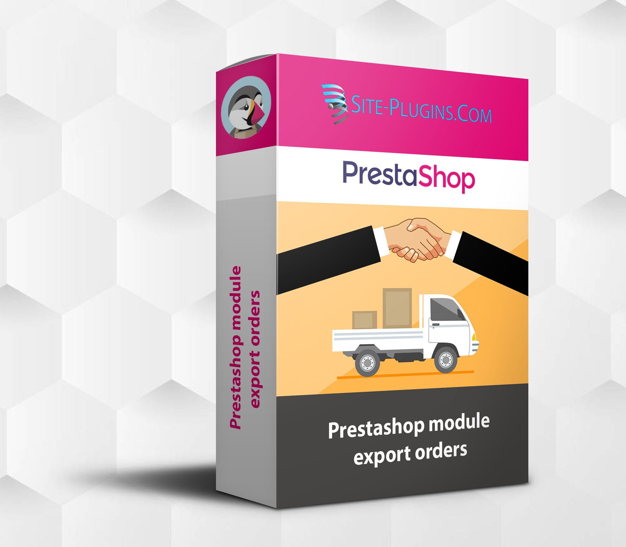 prestashop module export orders