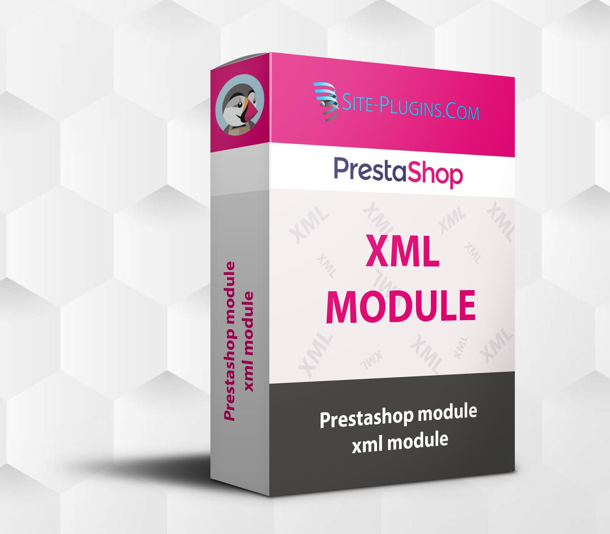 prestashop module xml module