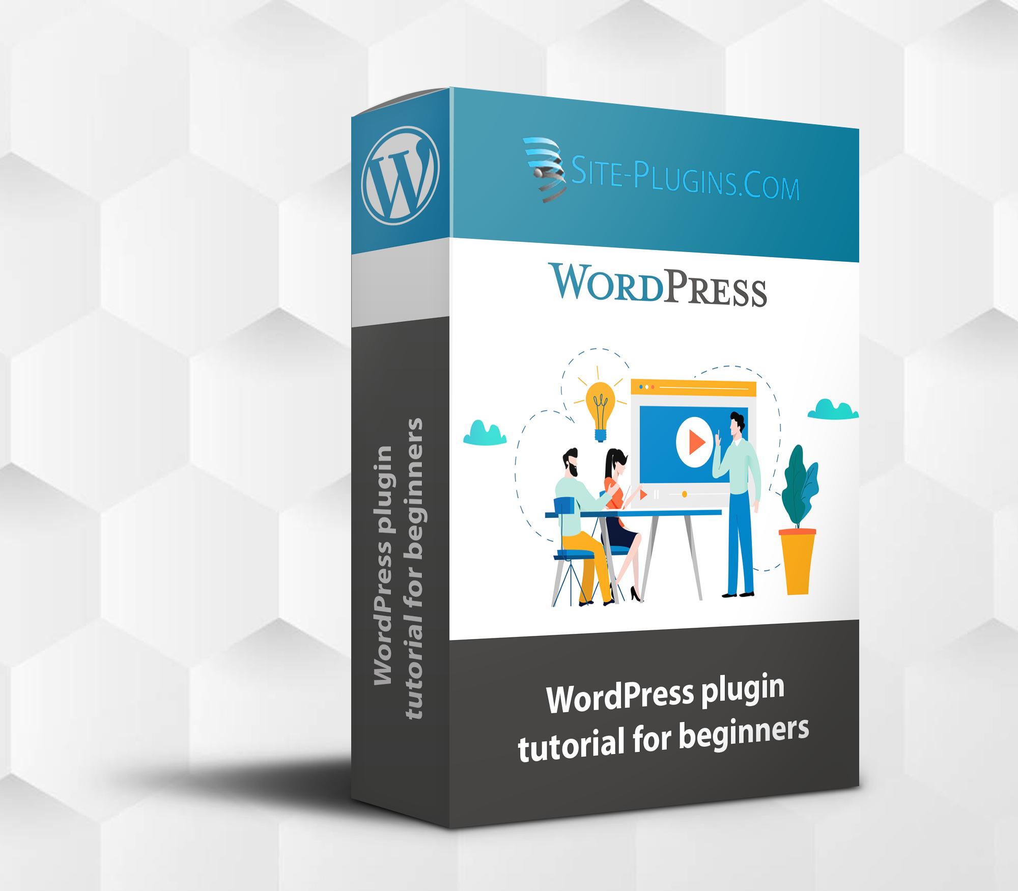 wordpress plugin tutorial form beginners