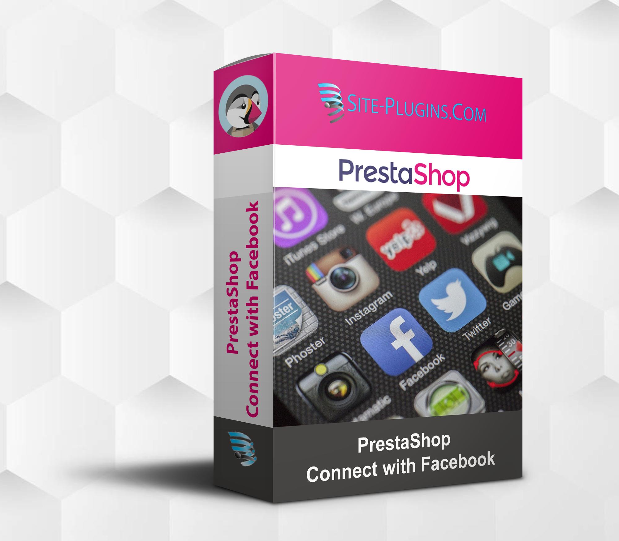 PrestaShop connect with Facebook